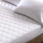 Martex Green Fitted Mattress Pad King 78x80 White 4 Per Case Price Per Each