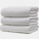 Martex Sovereign Dobby Pool Towels 35x66 100% Ring Spun Cotton Loops White 20.6Lb/Dz 1 Dz Per Case Price Per Dz