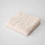 Martex Sovereign Hemmed Dobby Border Washcloths 12x12 1Lb/Dz Ecru 24 Dz Per Case Price Per Dz