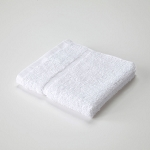 Martex Sovereign Hemmed Dobby Border Washcloths 12x12 1Lb/Dz White 24 Dz Per Case Price Per Dz