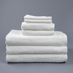 Martex Inn Washcloths 12x12 86% Cotton 14% Polyester White 1Lb/Dz 4 Dz Per Case Price Per Dz