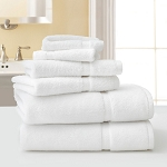 Martex Five Star Hotel Collection Bath Towels 30x56 100% Combed Ring Spun Cotton White 18Lb/Dz 3 Dz Per Case Price Per Dz