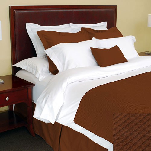 1888 Mills Adorn Coco Top Sheet King 110x120 55% Cotton 45% Polyester 12 Per Case Price Per Each
