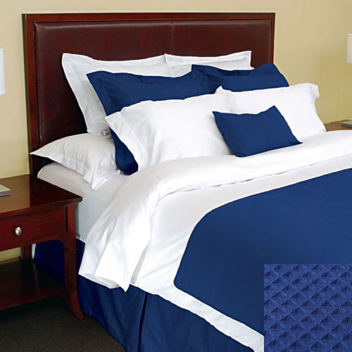 1888 Mills Adorn Marine Bed Skirt King 78x80 55% Cotton 45% Polyester 6 Per Case Price Per Each