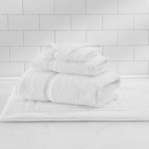 1888 Mills Crown Touch Bath Sheet 35x68 100% Cotton White 21Lb/Dz 2 Dz Per Case Price Per Dz