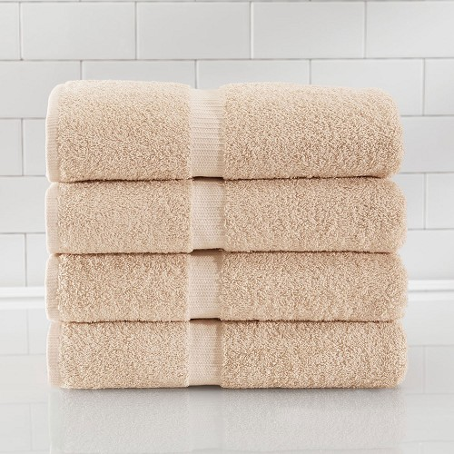 1888 Mills Rapture Washcloths 13x13 100% Ring Spun Cotton Beige 1.75Lb/Dz 25 Dz Per Case Price Per Dz