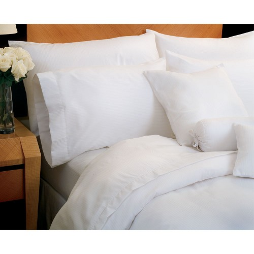 1888 Mills Magnificence T-310 Tone on Tone Fitted Sheets Full 54x75 60% Pima Cotton 40% Polyester White 2 Dz Per Case Price Per Dz