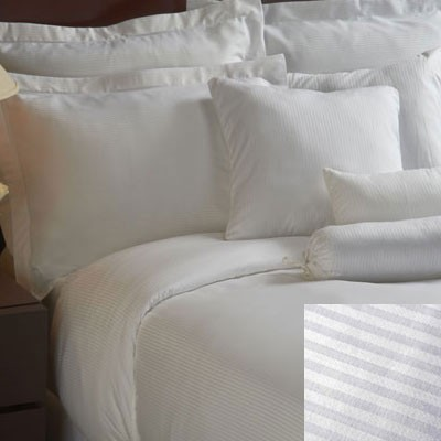 1888 Mills Magnificence T-310 Tone on Tone Pillowcase King 42x46 60% Pima Cotton 40% Polyester White 6 Dz Per Case Price Per Dz