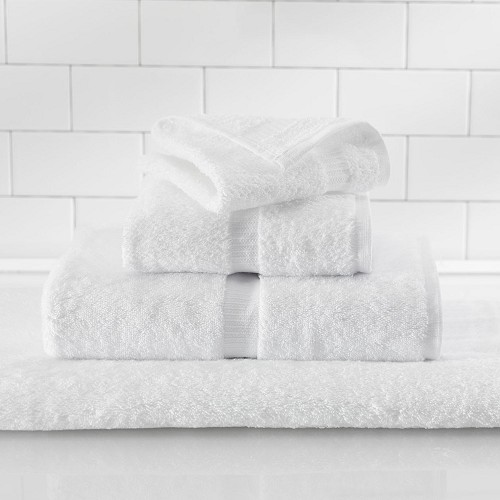 1888 Mills Rapture Bath Towels XXL 30x60 100% Ring Spun Cotton White 20Lb/Dz 2 Dz Per Case Price Per Dz