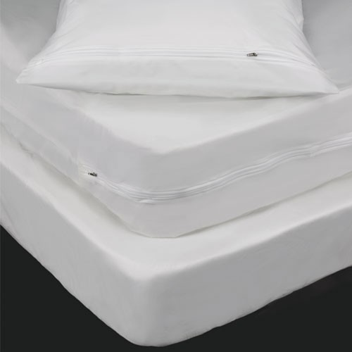 "Bargoose 6 Gauge Fitted Vinyl Mattress/Boxspring Cover Fits Up To 9"" Deep Full 54x75x9 6 Per Case Price Per Each"