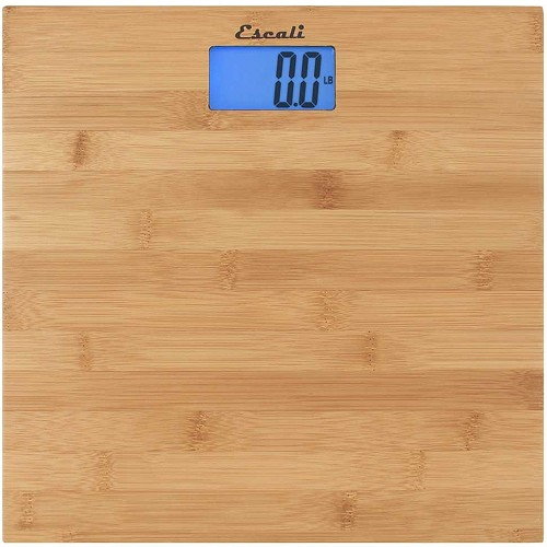 Escali Bamboo Bathroom Scale 6 Per Case Price Per Each