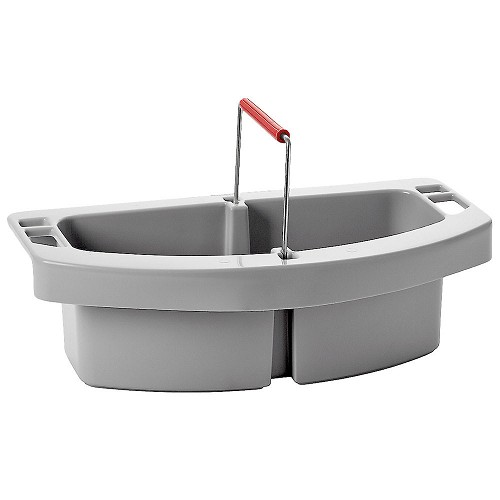 Rubbermaid Commercial 2649GRA Maid Caddy For BRUTE® 44-Gallon Containers 2643 & 2643-60 Gray