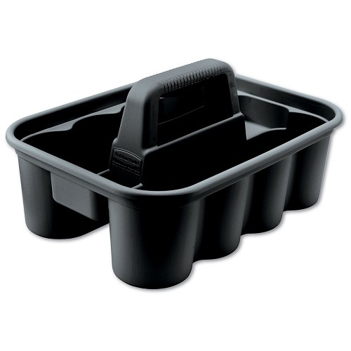 Rubbermaid Commercial 315488BLA Deluxe Carry Caddy Black