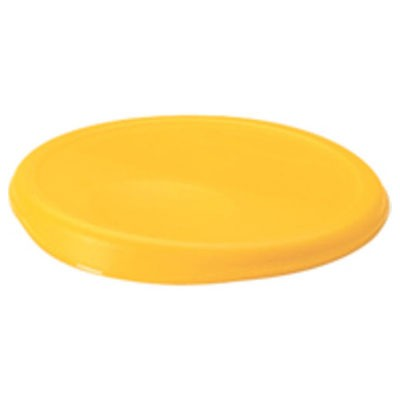 Rubbermaid Commercial 5725YEL 6 Qt. Round Storage Containers Lids For 5723 5723-24 5724 5724-24 10-1/4x1 Yellow