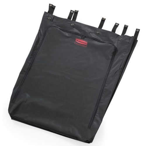 Rubbermaid Commercial 6350BLA 30 Gallon Premium Step-On Linen Hamper Bag