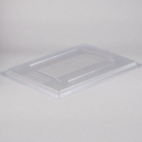 Rubbermaid Commercial 3302CLE Food Boxes Lid For 3300 3301 3306 3308 & 3328 Clear 6 Per Case Price Per Each
