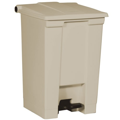 Rubbermaid Commercial 6144BEI 12 Gallon Step-On Container Beige