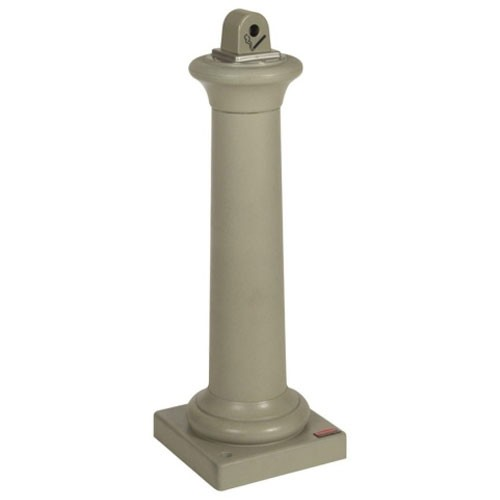 Rubbermaid Commercial 9W300SST Groundskeeper™ Outdoor Tuscan Cigarette Receptacle Sandstone