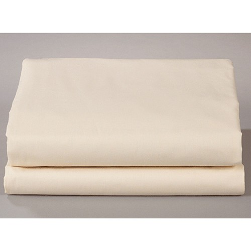 Thomaston Mills T-180 Flat Sheets Queen 90x110 50% Cotton 50% Polyester Bone 2 Dz Per Case Price Per Dz