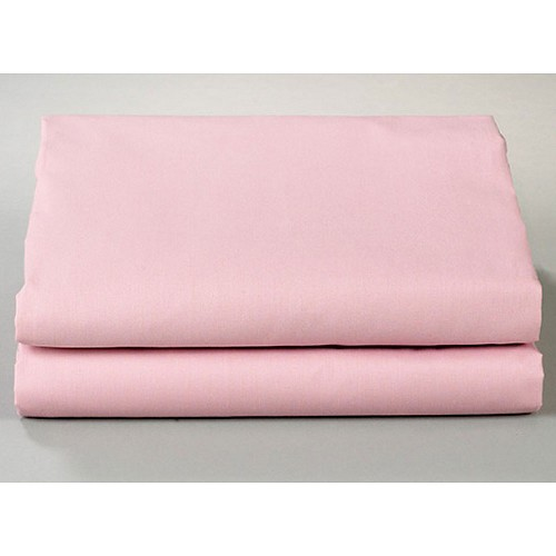 Thomaston Mills T-180 Fitted Sheets Twin 39x75x9 50% Cotton 50% Polyester Rose 2 Dz Per Case Price Per Dz